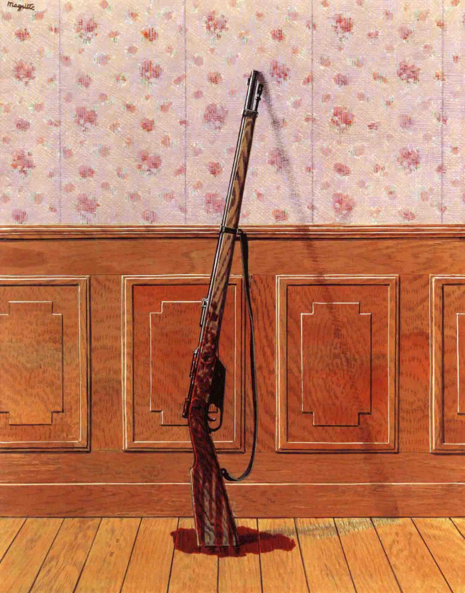 Le Survivant (Выживший), Рене Магритт, бельгийский художник сюрреалист