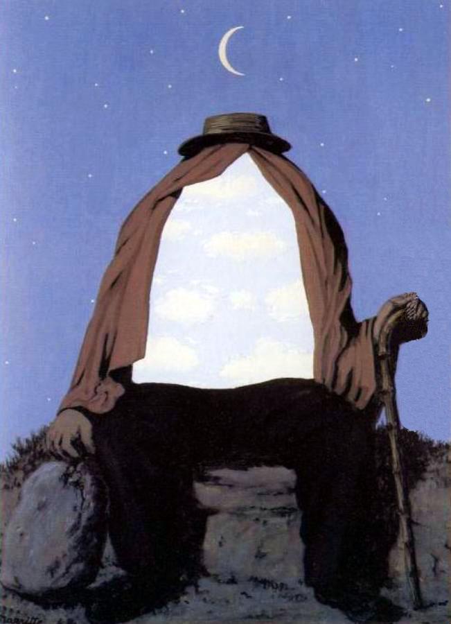 Le Therapeute II (Терапевт II), Рене Магритт, сюрреалистические картины
