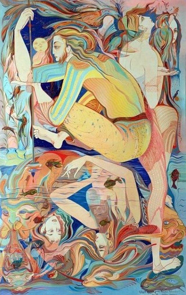 Иллюстрации Русудан Петвиашвили