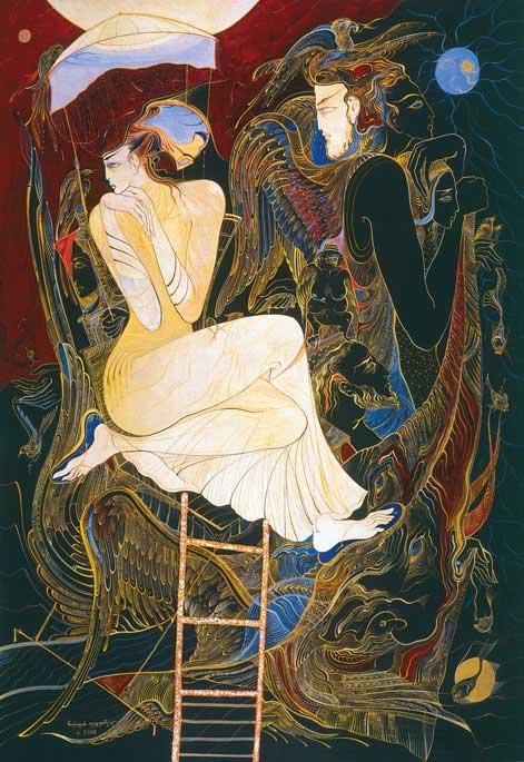 Русудан Петвиашвили, современные художники