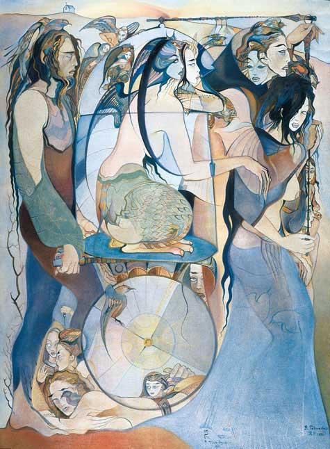 Русудан Петвиашвили, грузинские художники