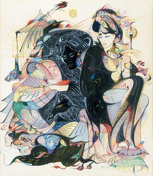 Картины Русудан Петвиашвили