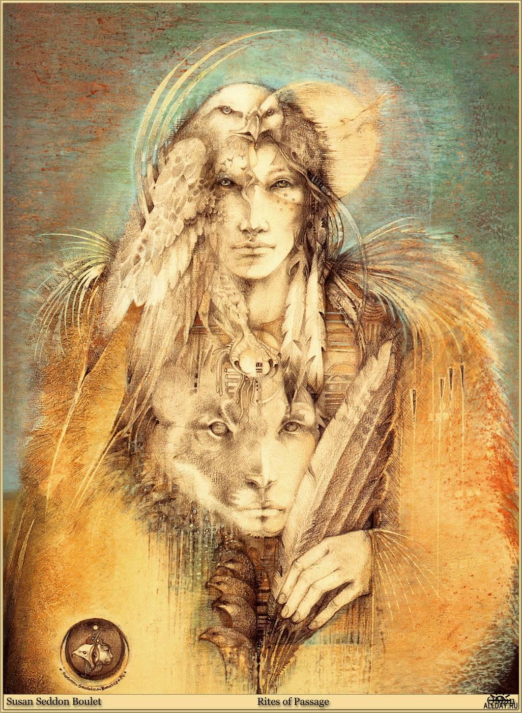 Шаманские сказки Susan Seddon Boulet