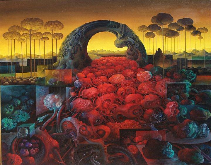 Васко Ташковски, сюрреализм