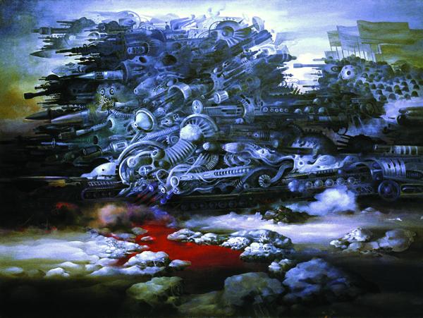 Сюрреалистические картины Васко Ташковского