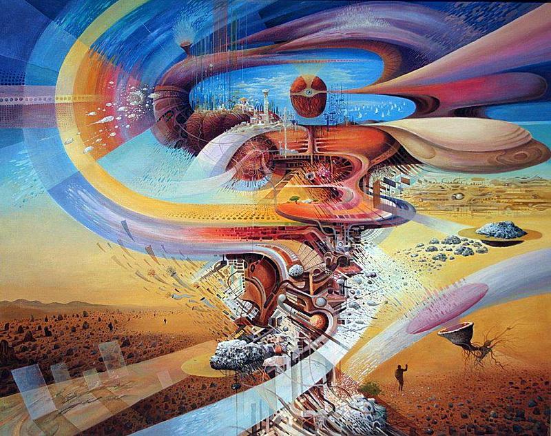 Картины художников сюрреалистов, Васко Ташковский