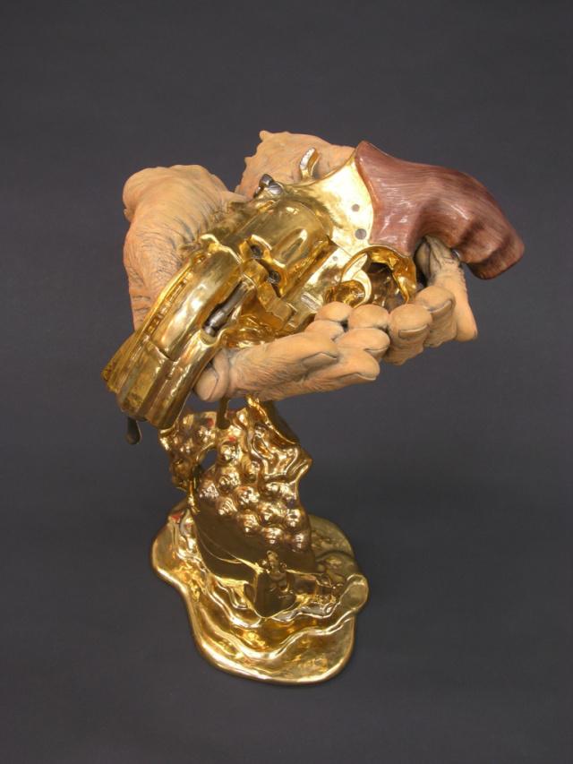 Необычная скульптура - Преобразование, Джонсон Цанг