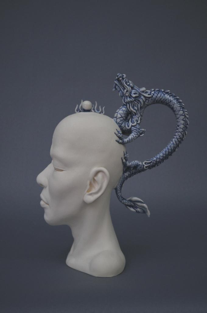 Скульптура, плачущий горшок, Джонсон Цанг