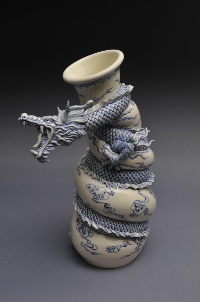 Керамическая скульптура - Painful pot, Джонсон Цанг