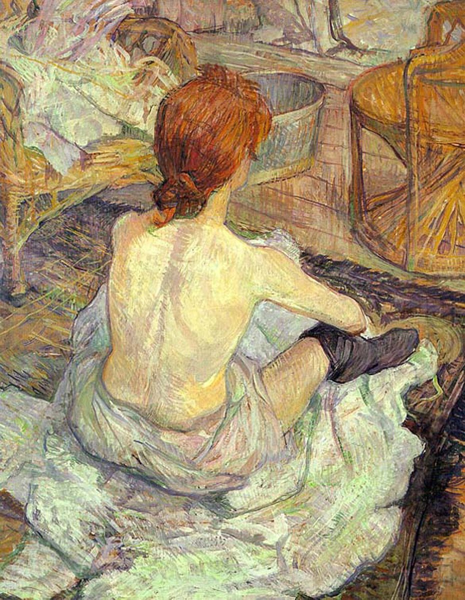 Анри де Тулуз Лотрек, La Toilette 1896
