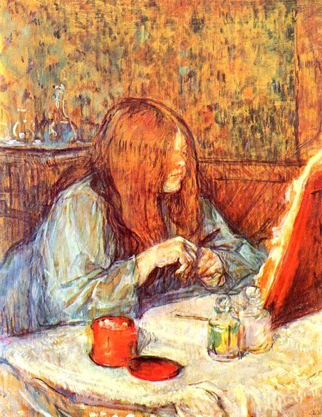 Тулуз Лотрек, художники, картины, импрессионизм 14
