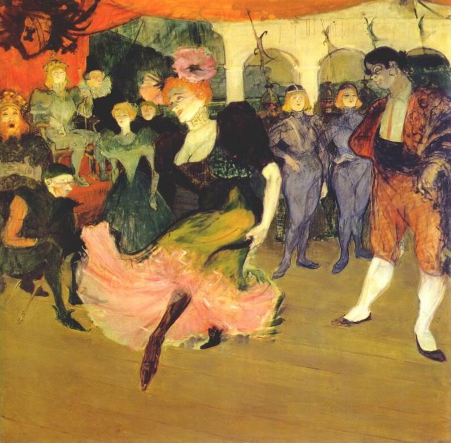 Тулуз Лотрек, художники, картины, импрессионизм 2