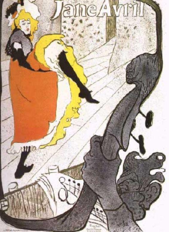 Тулуз Лотрек, художники, плакаты, импрессионизм 20