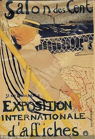 Тулуз Лотрек, художники, плакаты, импрессионизм 22
