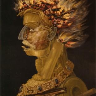Джузеппе Арчимбольдо, четыре стихии, огонь