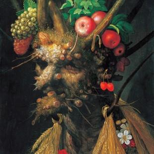 Джузеппе Арчимбольдо, времена года, четыре времени года в одном портрете