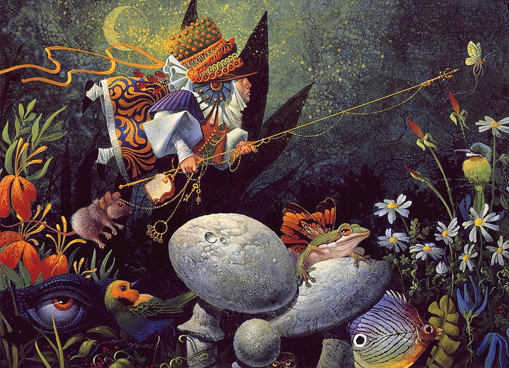 Иллюстрации Джеймса Кристенсена