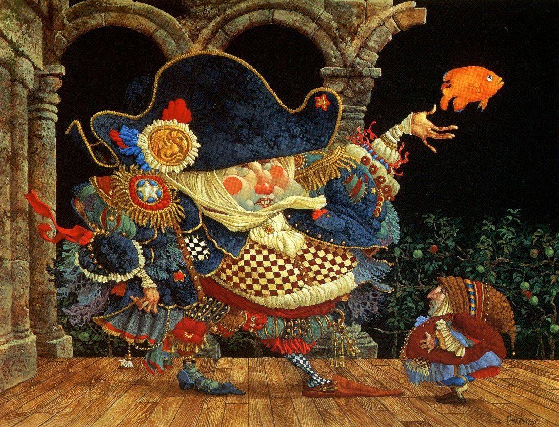 Сказочные иллюстрации Джеймса Кристенсена