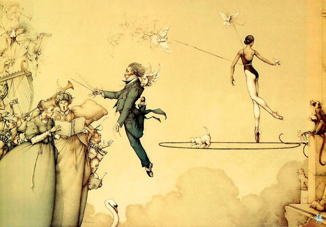 Картины Майкла Паркеса