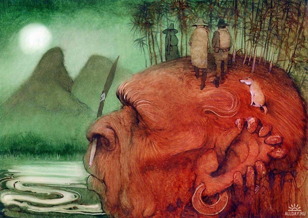 Рисунки русских художников
