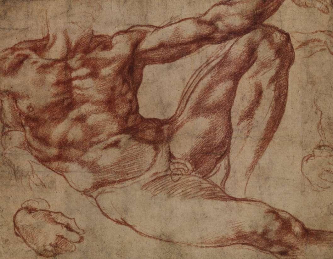 Наброски Микеланджело Буонаротти