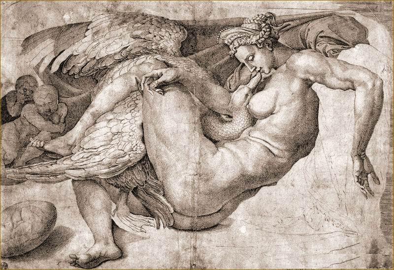 Рисунки Микеланджело Буонаротти