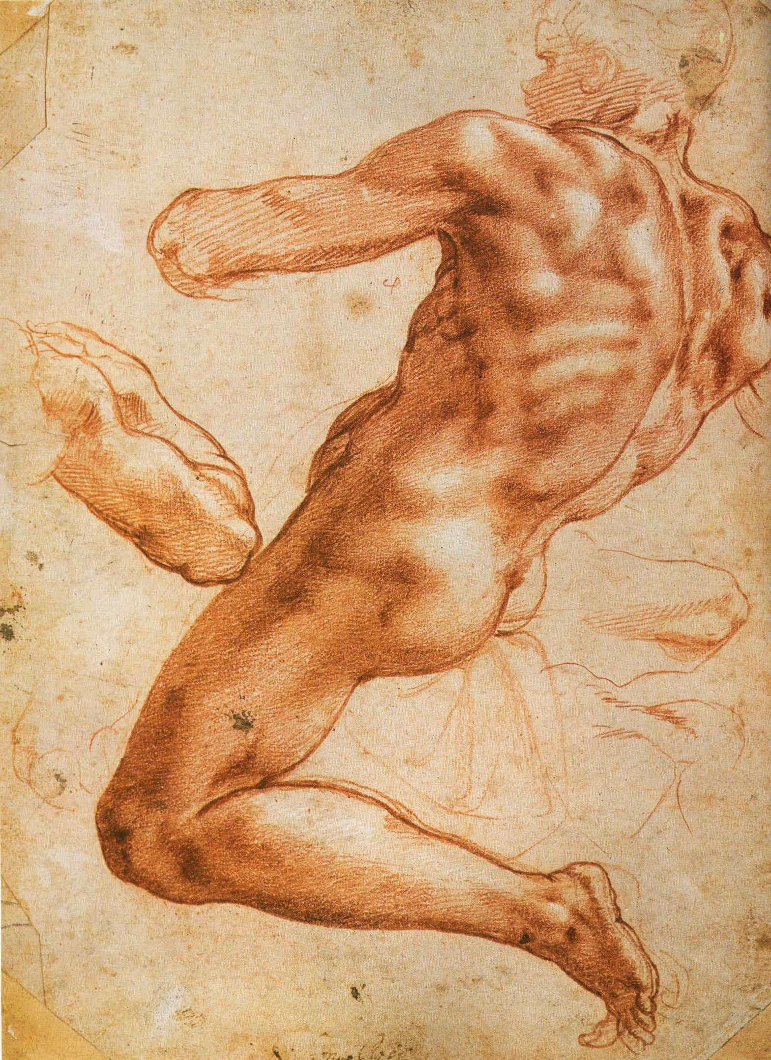 Рисунки и наброски Микеланджело Буонаротти