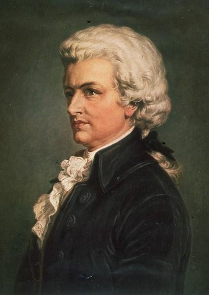Портрет Моцарта Вольфганга Амадея, Burchard Dubeck.