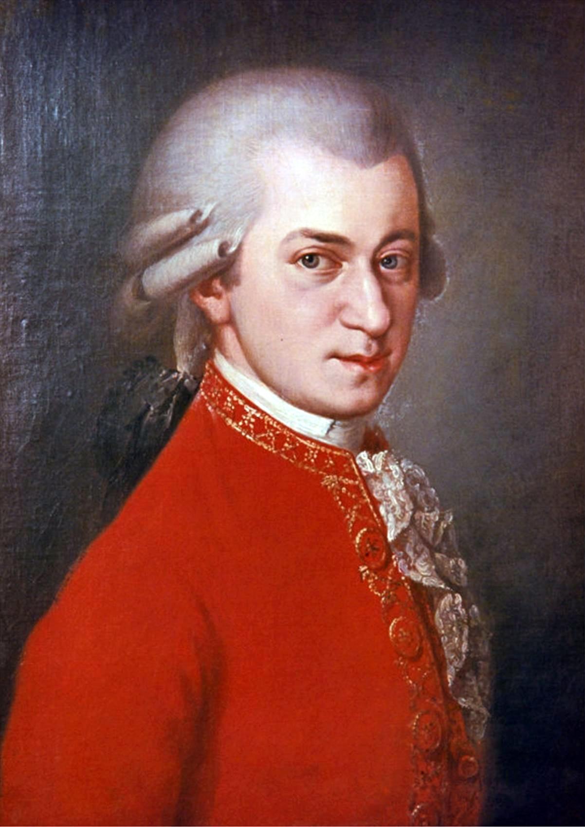 Портрет Моцарта Вольфганга Амадея
