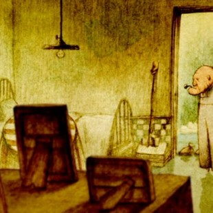 Мультфильм Дом из маленьких кубиков, Кунио Като