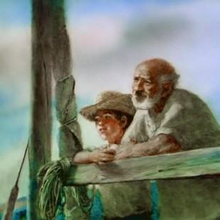 Мультфильм Александра Петрова, Старик и Море, 1999 год