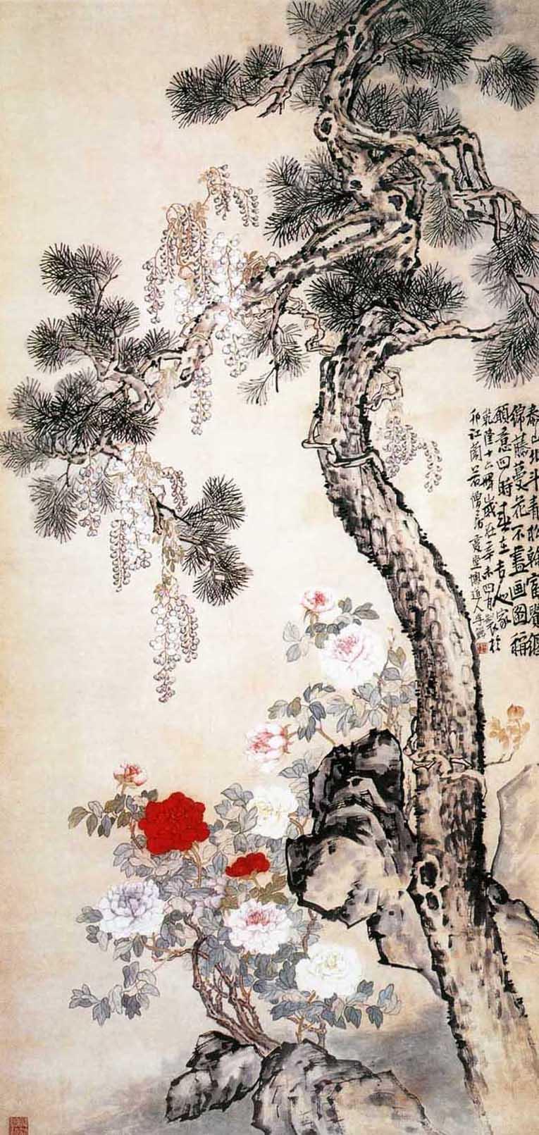 Хуан Шень, живопись гохуа, традиционная китайская живопись