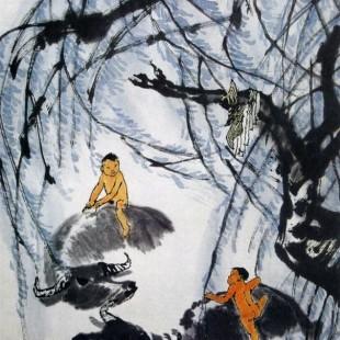 Живопись гохуа, (китайская традиционная живопись), Ли Кэжань