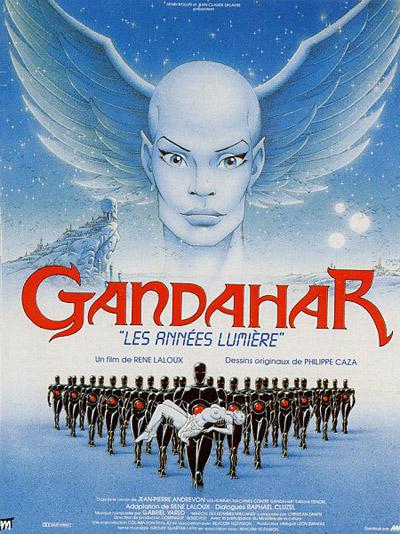 Рене Лалу, мультфильм Гандахар. Световые годы