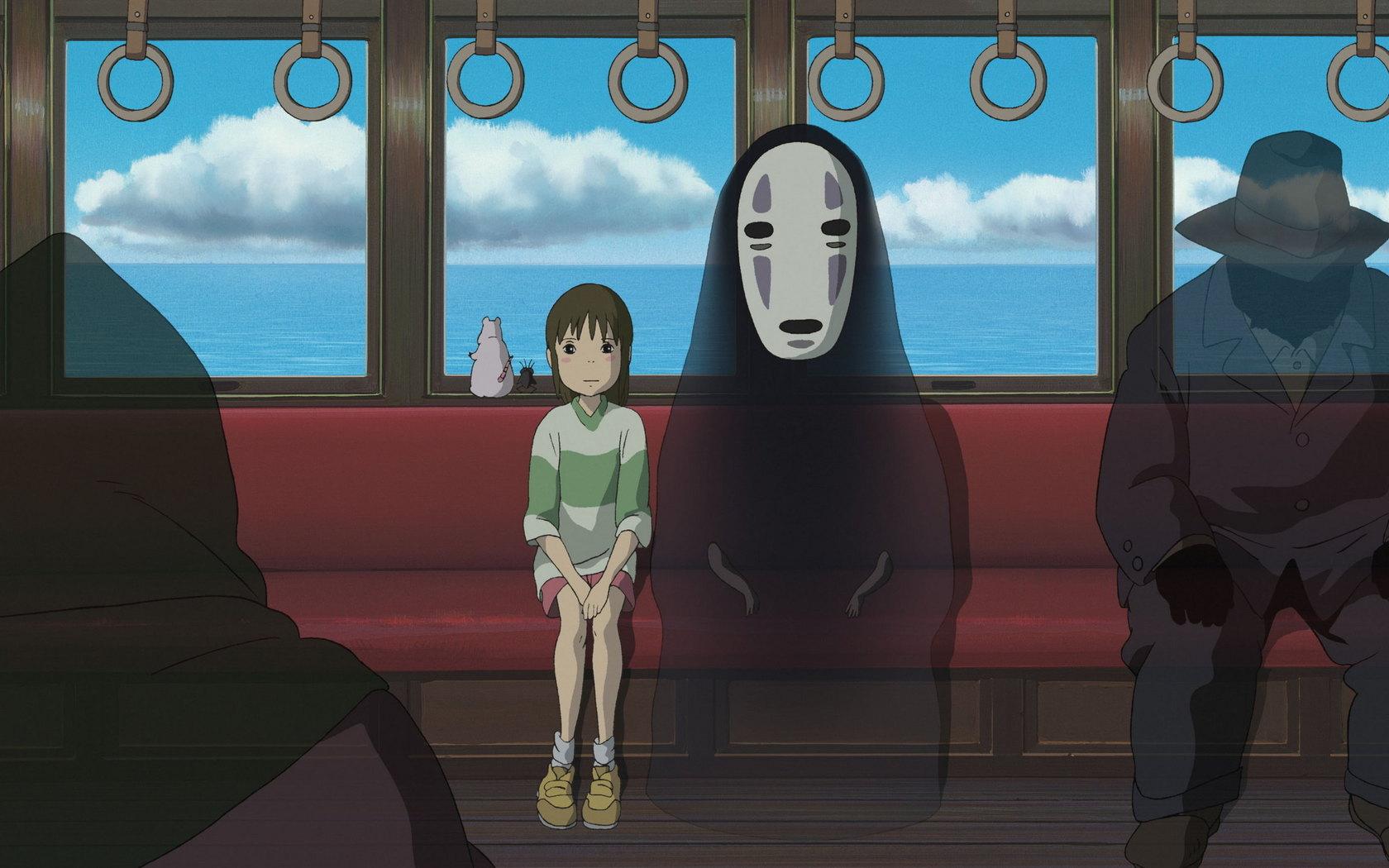 Хаяо Миядзаки, мультфильмы, Унесенные призраками