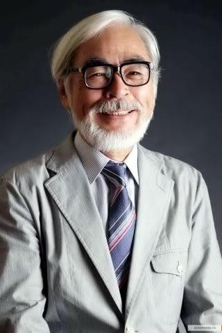 Хаяо Миядзаки, фотопортрет